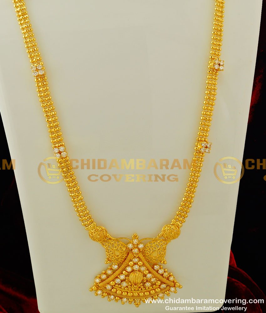 HRM250 - New Model Gold Haram Buy Latest Stone Haram Collections Online