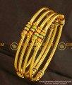 KBL001 - 1.12 Size Baby Bangles Gold Design 4 Pieces Set Enamel Bangles Buy Online