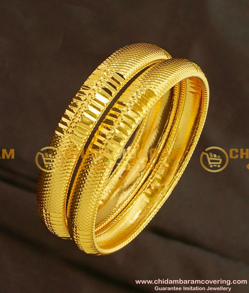 KBL011 - 2.2 Size Shining Cut Light Weight Indian Baby Bangles Designs