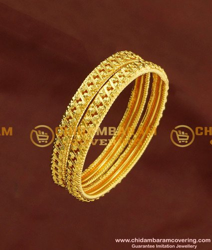 KBL027 - 1.14 Size Latest Baby Gold Bangles Design Guarantee Bangles Buy Online