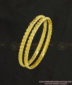 Kbl028 - 2-0 Size New Born Baby Bangle Heart Design Daily Wear Bangles For 3 - 6 Months
