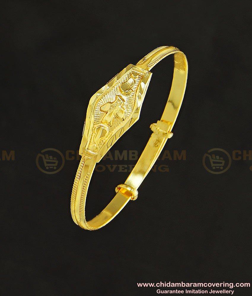 KBL032 - 1.10 Size New Born Baby Boy/Girl Adjustable Bangle Type Bracelet Designs