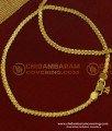 ANK043 - 10.5 Inch Gold Design Light Weight Daily Wear Thin Anklet Design Best Payal Design Online