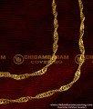 MAT01 - Thin Flexible Chain Ear Mattal Latest Imitation Jewellery Designs Online
