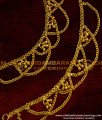 MAT04 - Hook Type Traditional Side Mattal Chain with trendy bead Design South Indian Imitation Jewelry Online