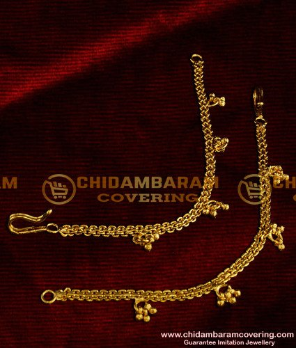 MAT05 - Traditional Side Mattal Hook Type without Chain Design South Indian Jewelry Online