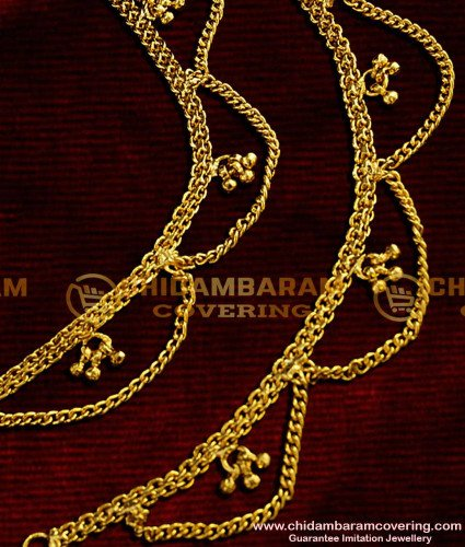 MAT06 - Hook Type Traditional Side Maattal Chain Design Imitation Jewelry Online