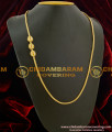MCHN041 - Latest AD Mugappu Kerala Style Chains Gold Covering Online Shopping India
