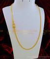 MCHN281 - Latest Gold Design American Diamond Lakshmi Mugappu Chain One Gram Gold Daily Wear Mugappu Chain