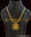 NLC011 - Adorable One Gram Gold Stone Lakshmi Necklace Tamilnadu Imitation Jewellery