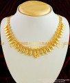 NLC017 – Kerala Light Weight Daily Wear Flower Petal Necklace for Women