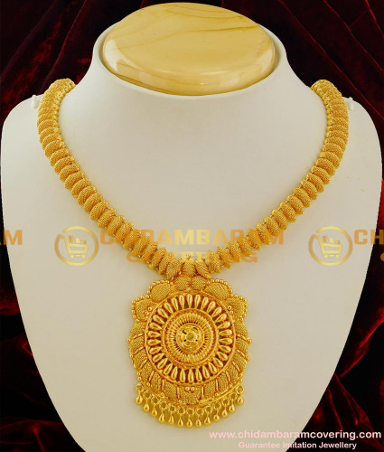 NLC027 – Handmade Low Price Simple Design Short Necklace Daily Wear Jewellery