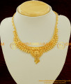 NLC073 - Hand Crafted Light Weight calcutta Necklace for Children Gold Color Exquisite Jewelry