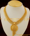 NLC096 - Latest Micro Gold Plated Spring Design Kerala Necklace Buy Online