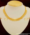 NLC102 - Kerala Light Weight Bridal Wear Necklace One Gram Gold Plated Jewelry