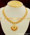 NLC108 - South Indian Traditional Attigai Ad Stone First Quality Necklace Buy Online