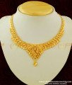 NLC156 - South Indian Gold Plated Necklace Design For Women