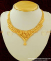NLC157 - Bridal Wear Gold Necklace Design Buy Online Shopping