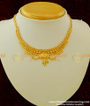 NLC163 - One Gram Gold Plated Calcutta Model Necklace for Kids