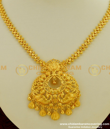 NLC211 - New Arrival Gold Look Chandbali Pendant Necklace Design Buy Online