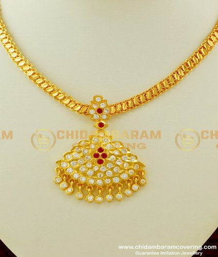 NLC253 - Traditional Impon Attigai Handmade South Indian Jewellery Collections Online