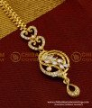 NCT042 - Uncut Diamond Designer Maang Tikka (Nethichuti) for Indian Bridal