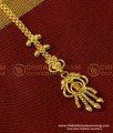 NCT049 - Light Weight Bridal Wear Gold Plated Design Maang Tikka Simple and Stylish Design