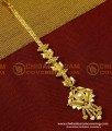 NCT050 - Stylish Look Light Weight Bridal Wear Gold Plated Design Maang Tikka Online