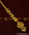 Semi precious heart shape hanging design maang tikka for women and girls - NCT016