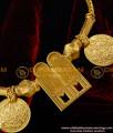 TAL10 - Gold Plated Thenkalai Vishnu Namam Thali Set Vishnu Thali Lakshmi Kasu Mangalsutra Design