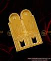 TAL13 - Thenkalai Vishnu Namam Thali South Indian Gold Plated Mangalsutra Design Online