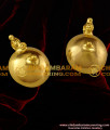 TAL26 - Gold Plated Imitation Jewelry Thali Big Pottu with Bead Set Design For Traditional Thaali