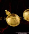 TAL27 - Gold Plated Andhra Bottu / Plain Pottu Set Design For Traditional Mangalsutra Thali