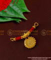 TAL40 - Gold Beads and Coral Lakshmi Coin Mangalsutra for Women | Coral Mangalsutra Online
