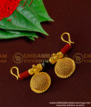 TAL42 - Double Coral with Black Beads and 2 Wati Brass Mangalsutra For Bangalore Women