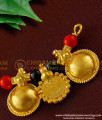 TAL45 - Princess Style 3 Wati and Coral Lakshmi Coin Gold Plated Mangalsutra For Women