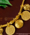 TAL47 - 3 Laxmi Coin and Double Mango Wati Gold Covering Mangalsutra For Women